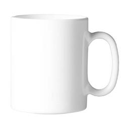 Kaffeebecher 32 cl, nicht stapelbar Form EVOLUTION uni weiß - Arcoroc