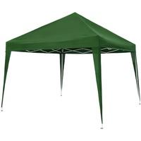 Tectake Faltpavillon 3 x 3 m grün inkl. Tragetasche