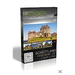 Insider Schottland, 3 DVDs