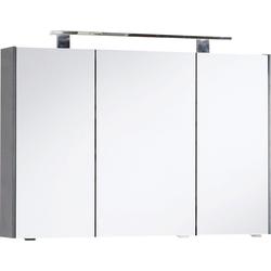 MARLIN Spiegelschrank 3400 Breite 102 cm grau