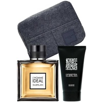Guerlain L'Homme Ideal Eau de Toilette 100 ml + Shower Gel 75 ml + Pouch Geschenkset