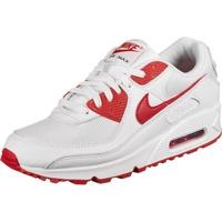Nike Men's Air Max 90 white/university red 45