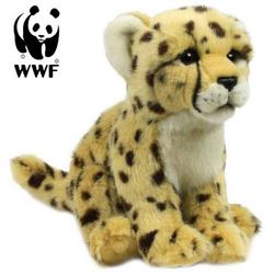 WWF Plüschfigur Plüschtier Gepard (sitzend, 23cm)