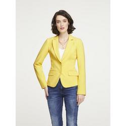 Blazer in taillierter Form gelb 36
