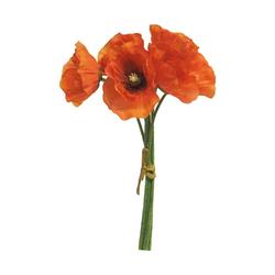 Kunstblume Klatschmohn, VBS, 29 cm lang
