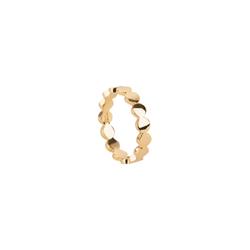 TOSH M Ring in geometrischem Design