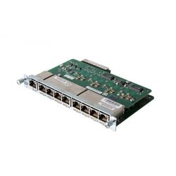 Cisco - HWIC-D-9ESW-POE - 9-Port Ethernet Switch HWIC with Power Over Ethernet