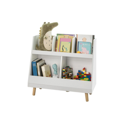 SoBuy Bücherregal KMB19, Kinderregal mit 5 Fächern
