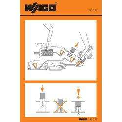 WAGO 210-370 Handhabungsaufkleber 100St.