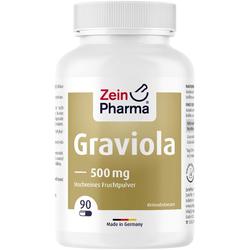 GRAVIOLA KAPSELN 500 mg/Kap.reines Blattpulv.Peru 90 St.