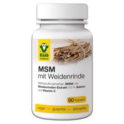 MSM mit Weidenrinde
