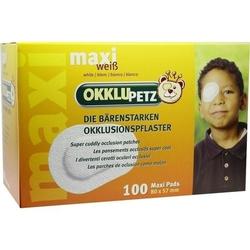 OKKLUPETZ Okklusionspflaster maxi weiß 100 St