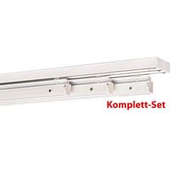 Gardinenschiene, indeko, 3-läufig, Fixmaß 160 cm