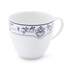 Friesland Porzellan Tasse Friesland Kaffeetasse 0,18l Atlantis Friesisch Bla (1-tlg), Made in Germany