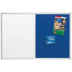 FRANKEN Whiteboard-Pinnwand X-tra!Line 60,0 x 45,0 cm Textil blau