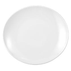 Modern Life Teller oval 29 cm weiß