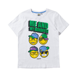 Smiley T-Shirt SMILEY WORLD WORLD T-Shirt für Jungen