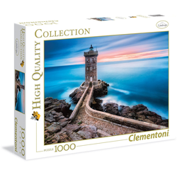 Clementoni® Puzzle High Quality Collection - Der Leuchtturm, 1000 Puzzleteile, Made in Europe