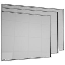 Vasner Infrarotheizung Zipris S 400, 400 W, Spiegelheizung mit Titan-Rahmen
