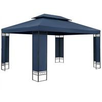 Casaria Pavillon Elda XXL 3 x 4 m blau
