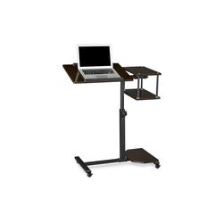 relaxdays Laptoptisch Laptoptisch höhenverstellbar XL schwarz