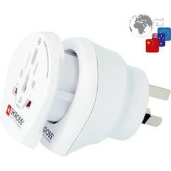Skross 1.500210-E Reiseadapter CO W to AUS/CHINA