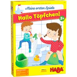 Haba Spiel Meine ersten Spiele - Hallo Töpfchen, Made in Germany bunt Kinder Ab 2 Jahren Altersempfehlung