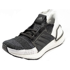 adidas Ultraboost 19 black-white/ white, 46
