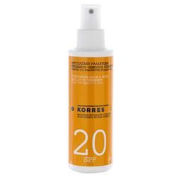 Korres Sunscreen Face & Body Emulsion Yogurt SPF20 150ml