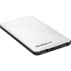 VARTA Power Bank Energy 5000 + Ladekabel, 5000mAh Powerbank mit USB Type C Powerbank 5000 mAh (3,7 V, 1 St)