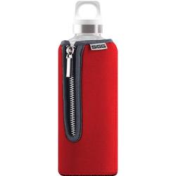 SIGG Trinkflasche Stella Glas mit Neopren 8738.90 Rot 500ml