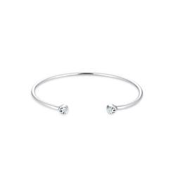 Elli Armreif Armreif Trend Kristalle 925 Silber silberfarben