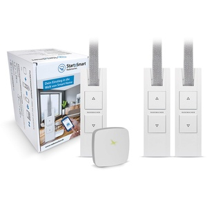 "Rademacher Start2Smart-Kit ""Gurtwickler"" - Bridge & 3x RolloTron Basis DuoFern 1200-UW, elektrischer Gurtwickler Smart Home"