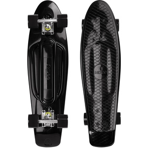 "Ridge Recycled 27"" Cruiser Skateboard, Schwarz, Zoll"