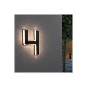 Paulmann LED-Solar-Hausnummer 4