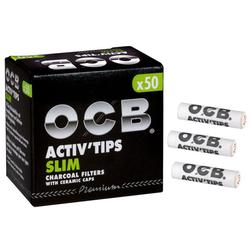 OCB Activ Tips Slim 7mm 50er
