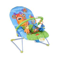 COSTWAY Babywippe Babywippe, Babywiege Schaukelwippe Schaukelsitz Babyschaukel Babysitz mit Vibrationsfunktion Musik