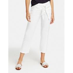 GERRY WEBER 7/8-Hose Upcycling Jeans (1-tlg) weiß 44