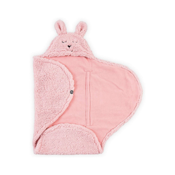 Einschlagdecke Einschlagdecke Bunny, pink, Jollein