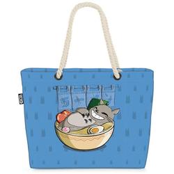VOID Strandtasche (1-tlg), Ramen Totoro neko mein nachbar anime blau