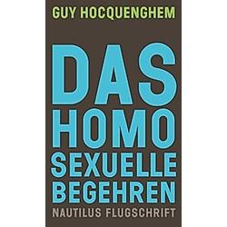 Das homosexuelle Begehren