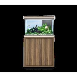 Aquatlantis FUSION LED 2.0 Aquarium Kombination, Fusion 80 zebrano