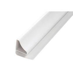 Baukulit VOX Abschlussprofil Kehlabschlussprofile, 2er-Set (2er-Set), aus Kunststoff grau