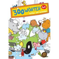 300 Wörter suchen und ausmalen - Autowaschen