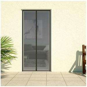 HECHT Insektenschutz-Vorhang DELUXE, schwarz, BxH: 100x220 cm schwarz Türen
