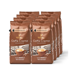 Caffè Crema Vollmundig – 8x 1 kg Ganze Bohne
