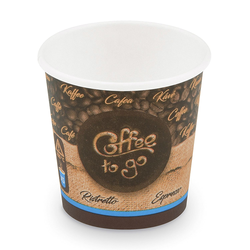 Kaffeebecher XS 'Coffee To Go' für Espresso Ristretto 80 ml 110 ml,  50 Stk.