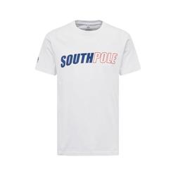 Southpole T-Shirt Writing (1-tlg) L