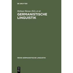Germanistische Linguistik: Buch von