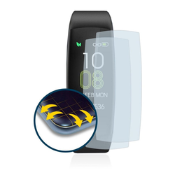BROTECT Schutzfolie für AGPtek C30, (2 Stück), Full-Cover 3D Curved klar